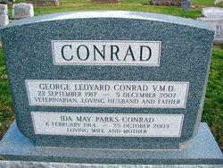 Ida May <i>Parks</i> Conrad