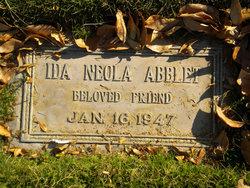 Ida Neola <i>Miller</i> Abblet