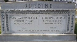 Nettie <i>Hall</i> Burdine
