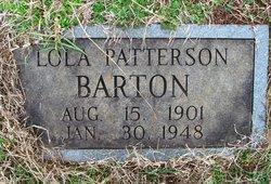 Lola <i>Patterson</i> Barton