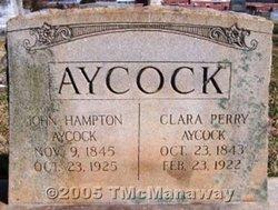 Clara <i>Perry</i> Aycock