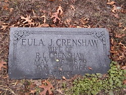Eula J <i>Treadwell</i> Crenshaw