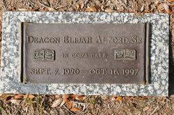 Elijah Alford, Sr