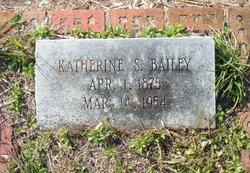 Katherine B Kate <i>Scott</i> Bailey