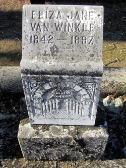Eliza Jane <i>Thompson</i> Van Winkle