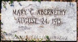 Mary Lee <i>Conner</i> Abernethy
