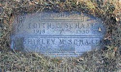 Edith Charlotte Schaaf