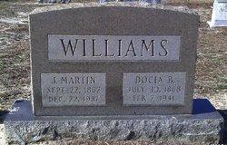 Docia <i>Bolin</i> Williams
