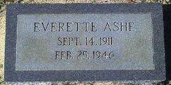 Everette Ashe
