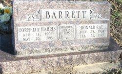 Cornelia <i>Harris</i> Barrett