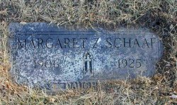Margaret Zella Schaaf