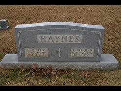 Merle Jean Haynes