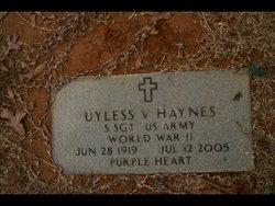 Uyless V Red Haynes