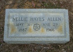 Nellie Lee <i>Hayes</i> Allen