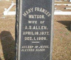 Mary Frances <i>Watson</i> Allen