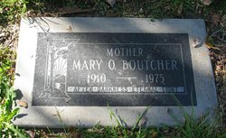 Mary Otha <i>Nunnally</i> Boutcher