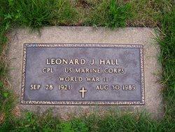 Leonard J Hall