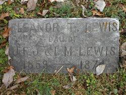 Eleanor T Lewis