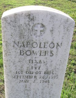 Pvt Napolean Bowers