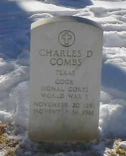 Charles D Combs