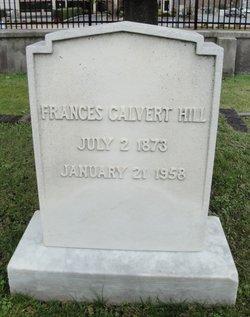 Frances Calvert Hill