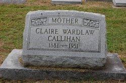 Eugenia Claire <i>Wardlaw</i> Callihan