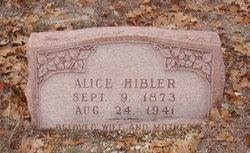 Alice Hibler