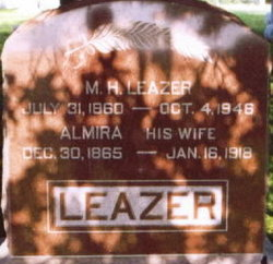 Almira <i>Liggett</i> Leazer