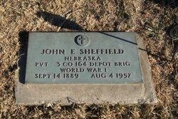 John E Sheffield