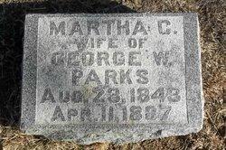 Martha C <i>Caudle</i> Parks