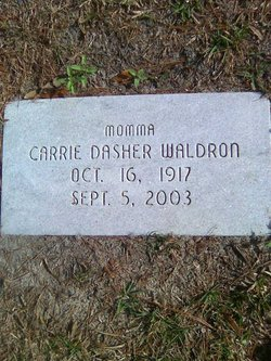 Carrie Belle <i>Dasher</i> Waldron