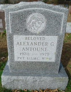 Alexander G. Antoune