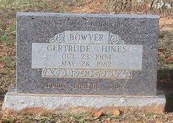 Gertrude <i>Hines</i> Boyer