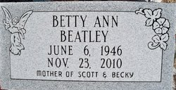 Betty Ann Beatley