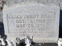 Grace <i>Thrift</i> Dean