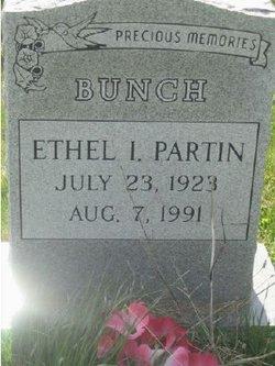 Ethel I <i>Partin</i> Bunch