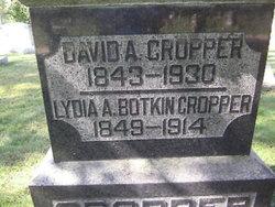 Lydia A. <i>Botkin</i> Cropper