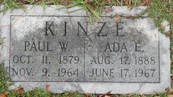 Ada Ethel <i>Marshall</i> Kinze