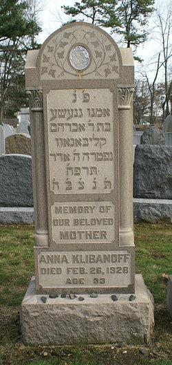 Anna <i>Fagin</i> Klibanoff