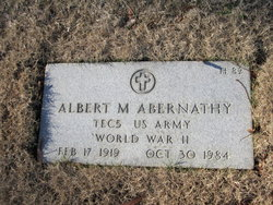 Albert Marcus Abernathy
