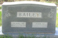 Pearl M. Bailey