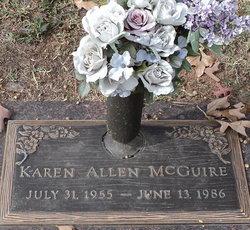 Karen <i>Allen</i> McGuire