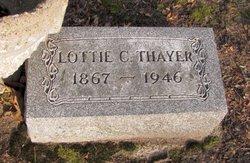 Charlotte Catherine Lottie <i>Bassett</i> Thayer