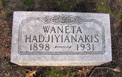 Waneta Hon <i>Thayer</i> Hadjiyianakis