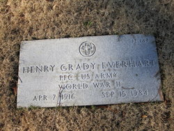 Henry Grady Everhart