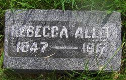 Malinda Rebecca <i>McConnell</i> Allen
