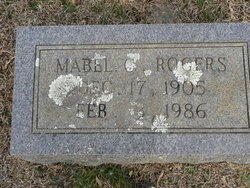Mabel Rogers