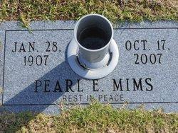 Pearl E <i>Gaines</i> Mims