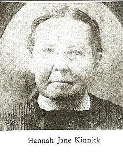 Hannah Jane <i>Kinnick</i> Henry