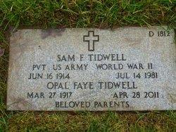 Opal Faith Faye <i>Shelby</i> Tidwell
